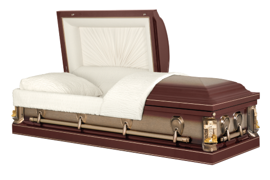 Solid Steel Casket