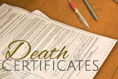 Is a Death Certificate required by law?